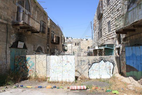 Hebron Street Blockade